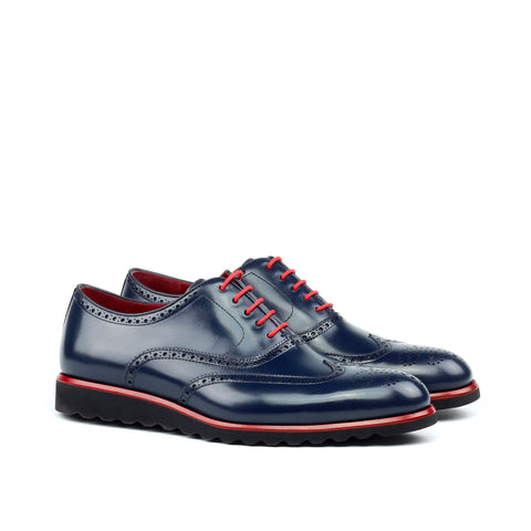 Custom Designed Full Brogue - DV Clothiers - The Best Custom Mens Suits In Vancouver