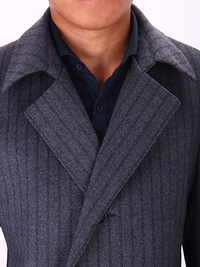 Premium Single Breasted 3 Button Overcoat - DV Clothiers - The Best Custom Mens Suits In Vancouver