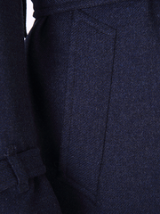 Premium Double Breasted Tie Up Overcoat - DV Clothiers - The Best Custom Mens Suits In Vancouver