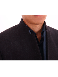 Premium Single Breasted 3/4 Length Overcoat - DV Clothiers - The Best Custom Mens Suits In Vancouver