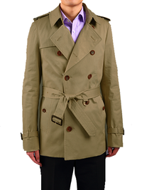 Premium Double Breasted - 1/2 Length - Trenchcoat - DV Clothiers - The Best Custom Mens Suits In Vancouver