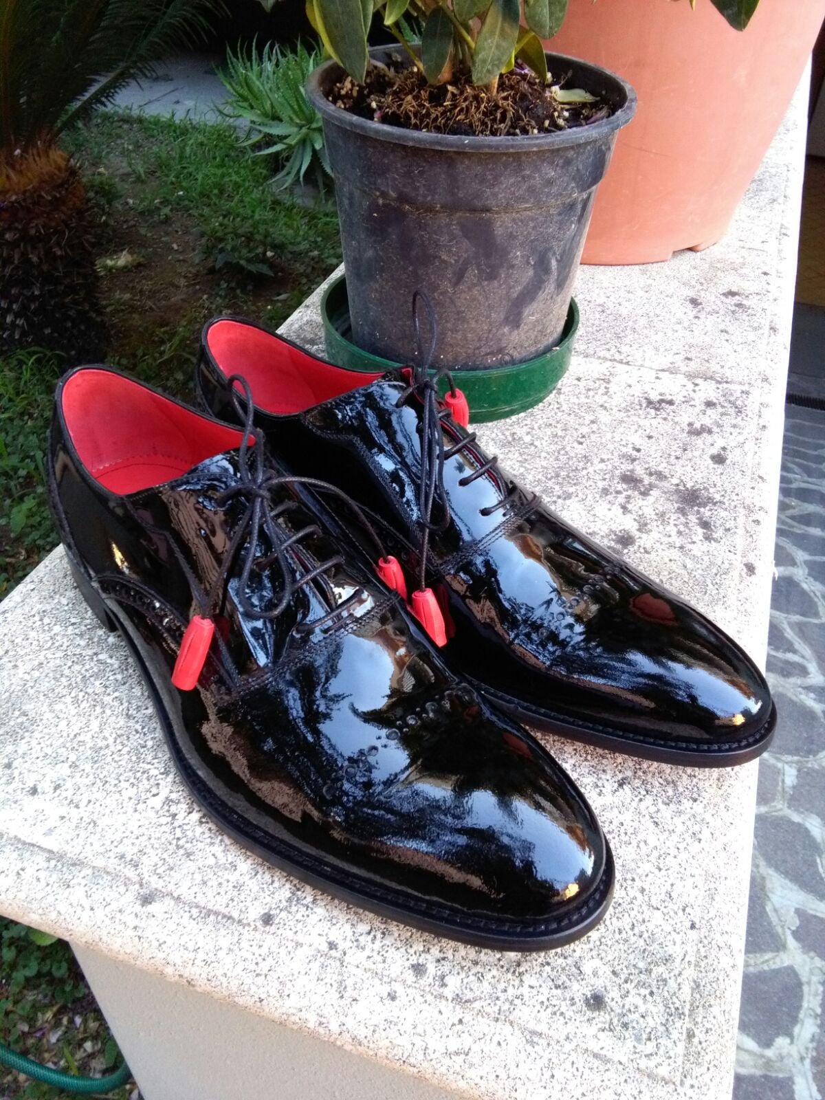 Formal Black Lace Ups - DV Clothiers - The Best Custom Mens Suits In Vancouver