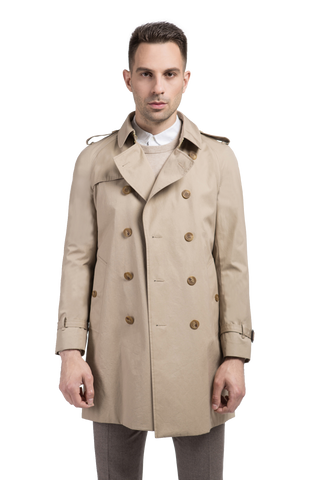Rain & Wind Resistant Trench Coat