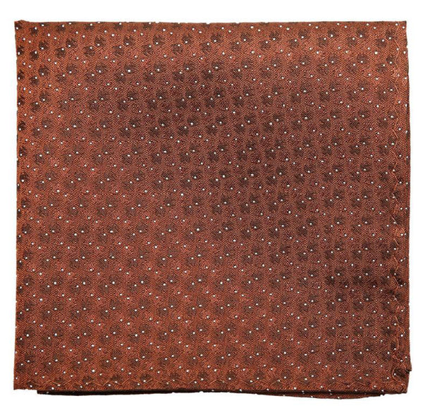 Brown Mulberry Silk Pocket Square - DV Clothiers - The Best Custom Mens Suits In Vancouver