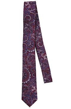 Multi Colour - Paisley Mulberry Silk Tie - DV Clothiers - The Best Custom Mens Suits In Vancouver
