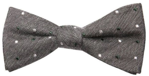 Tioga Mulberry Silk Bow Tie - DV Clothiers - The Best Custom Mens Suits In Vancouver