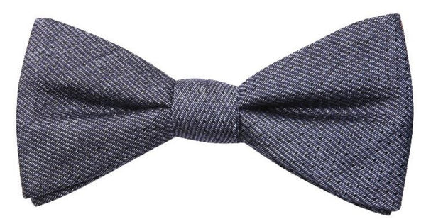 Galveston Mulberry Silk/ Wool Bow Tie - DV Clothiers - The Best Custom Mens Suits In Vancouver