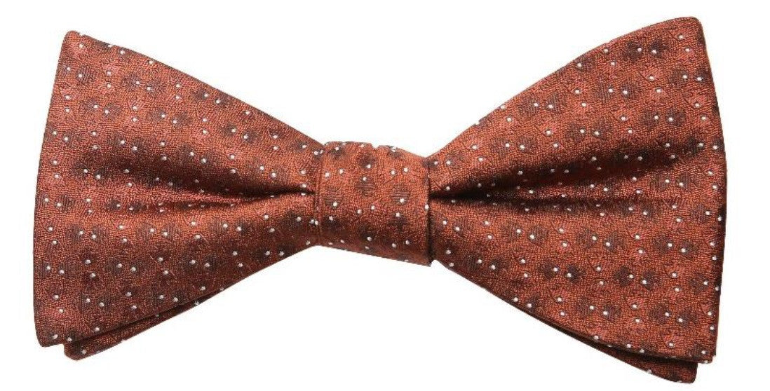 Light Brown Mulberry Silk Bow Tie - DV Clothiers - The Best Custom Mens Suits In Vancouver