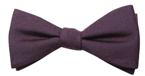 Light Brown Mulberry Silk/ Wool Bow Tie - DV Clothiers - The Best Custom Mens Suits In Vancouver