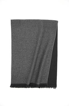 Grey & Black Mulberry Silk Scarf - DV Clothiers - The Best Custom Mens Suits In Vancouver