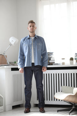 Stretch Custom Denim - Casual Blue - MN-17143