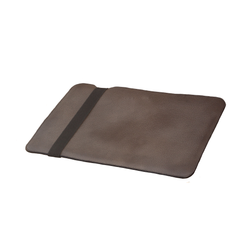 Painted Full Grain Brown Macbook Case
