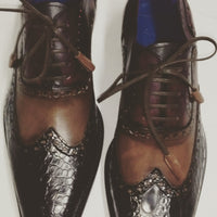 Brogue Wingtips - DV Clothiers - The Best Custom Mens Suits In Vancouver