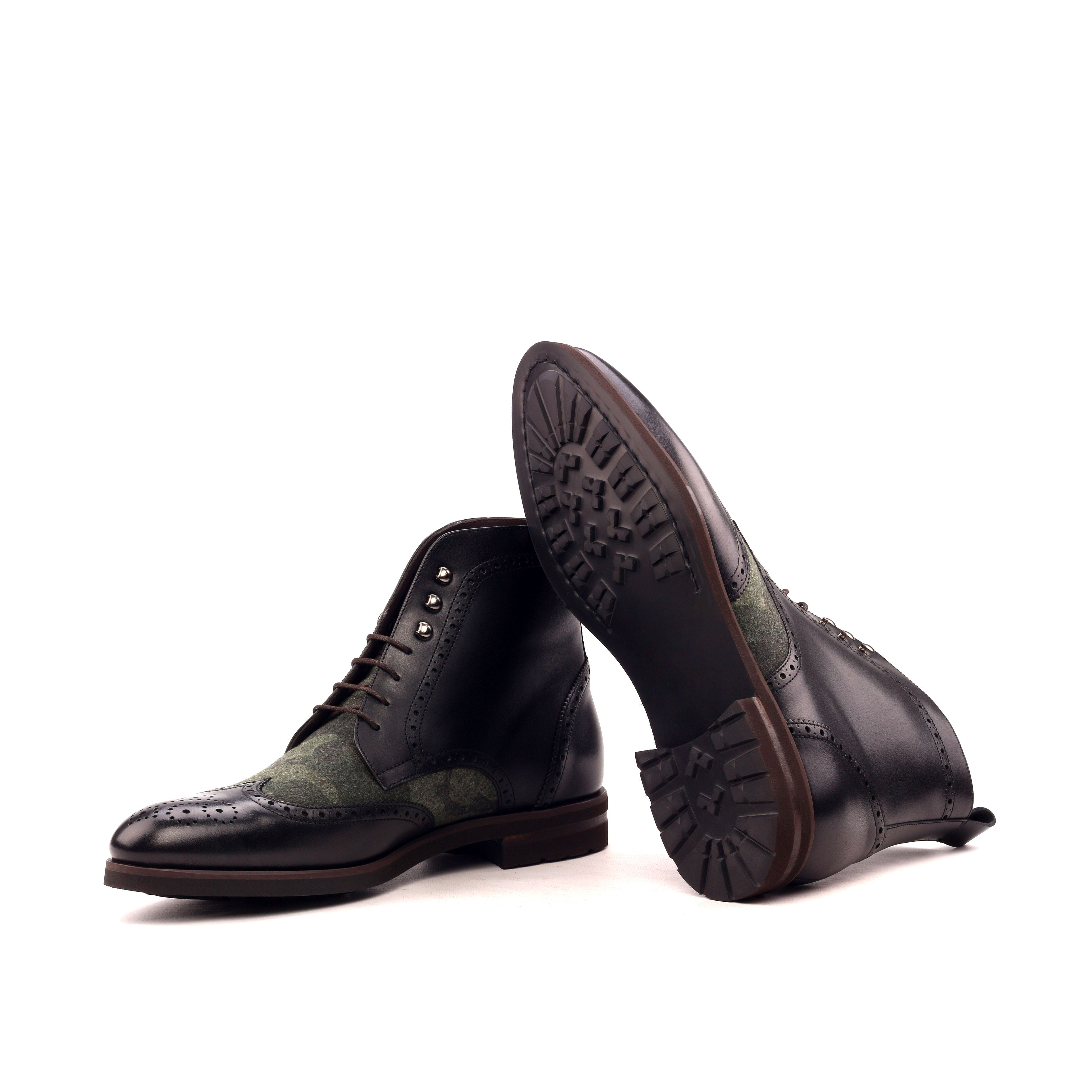 Custom Designed Military Boot - DV Clothiers - The Best Custom Mens Suits In Vancouver