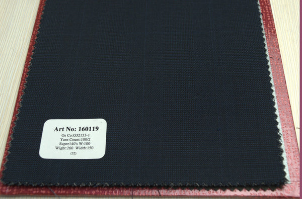 signature-100-wool-super-140s-260-gs-m-check-grey-160119 - DV Clothiers - The Best Custom Mens Suits In Vancouver