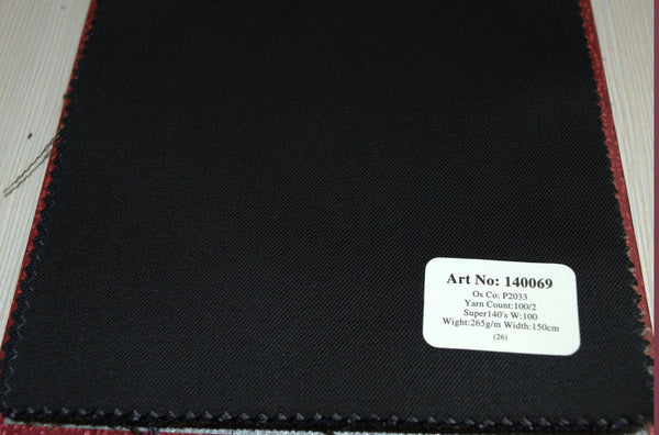 signature-100-wool-super-140s-265-gs-m-plain-black-140069 - DV Clothiers - The Best Custom Mens Suits In Vancouver