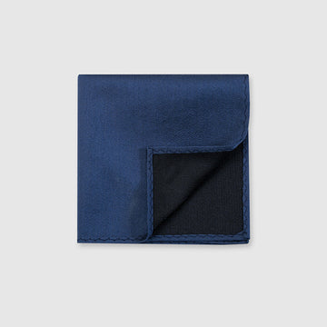 2020 Blue Pocket Square