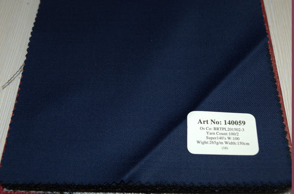 signature-100-wool-super-140s-265-gs-m-plain-blue-140059 - DV Clothiers - The Best Custom Mens Suits In Vancouver