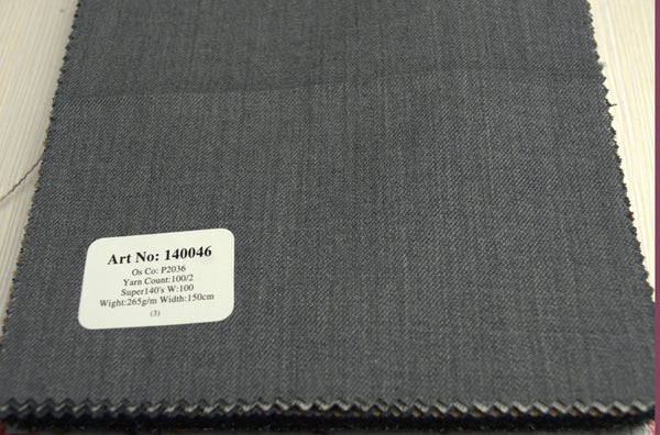 signature-100-wool-super-140s-265-gs-m-plain-grey-140046 - DV Clothiers - The Best Custom Mens Suits In Vancouver