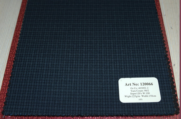 signature-100-wool-super-120s-290-gs-m-check-grey-120065 - DV Clothiers - The Best Custom Mens Suits In Vancouver