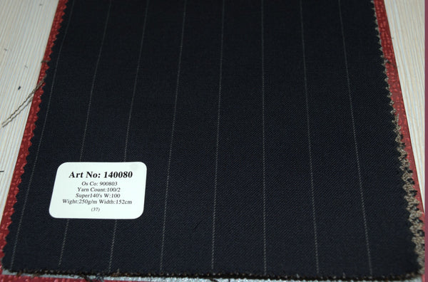 signature-100-wool-super-140s-250-gs-m-pinstripe-blue-140080 - DV Clothiers - The Best Custom Mens Suits In Vancouver