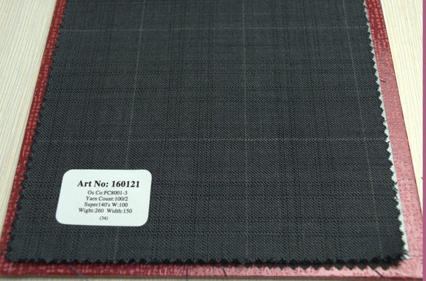 signature-100-wool-super-140s-260-gs-m-check-blue-160121 - DV Clothiers - The Best Custom Mens Suits In Vancouver