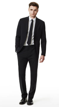 The Essential Black Suit - DV Clothiers - The Best Custom Mens Suits In Vancouver
