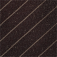 Brown Textured Stripe Mulberry Silk Tie - DV Clothiers - The Best Custom Mens Suits In Vancouver
