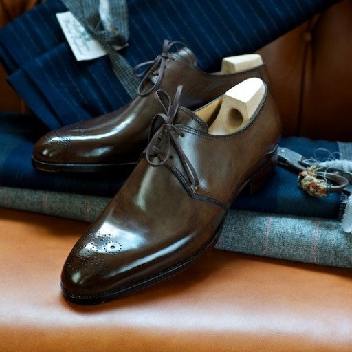 Derby Shoe - DV Clothiers - The Best Custom Mens Suits In Vancouver