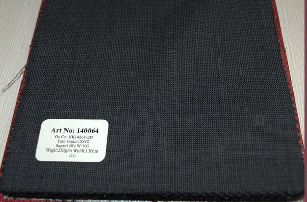 signature-100-wool-super-140s-250-gs-m-plain-grey-140064 - DV Clothiers - The Best Custom Mens Suits In Vancouver