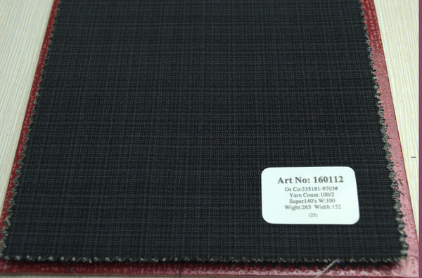 signature-100-wool-super-140s-265-gs-m-check-grey-160112 - DV Clothiers - The Best Custom Mens Suits In Vancouver