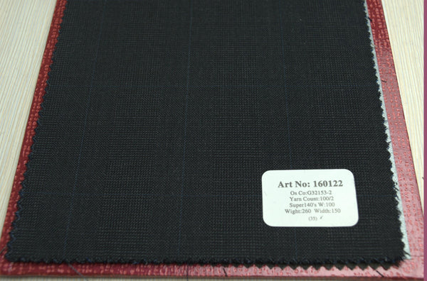 signature-100-wool-super-140s-260-gs-m-check-grey-blue-160122 - DV Clothiers - The Best Custom Mens Suits In Vancouver