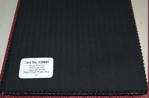 signature-100-wool-super-120s-255-gs-m-plain-grey-120045 - DV Clothiers - The Best Custom Mens Suits In Vancouver