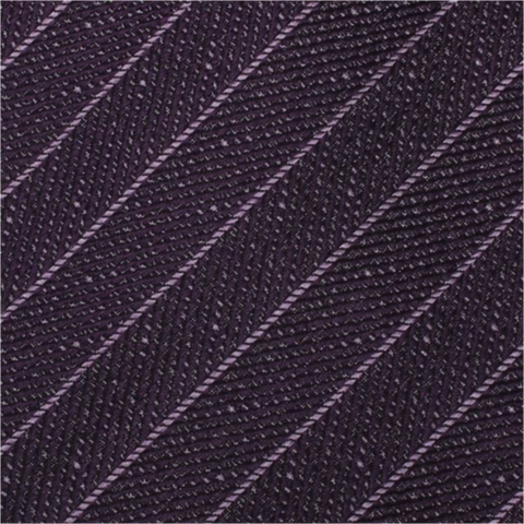 Purple Textured Stripe Mulberry Silk Tie - DV Clothiers - The Best Custom Mens Suits In Vancouver