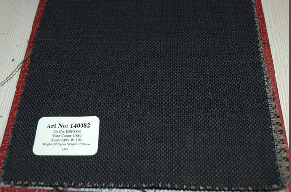 signature-100-wool-super-140s-265-gs-m-birdseye-charcoal-140082 - DV Clothiers - The Best Custom Mens Suits In Vancouver
