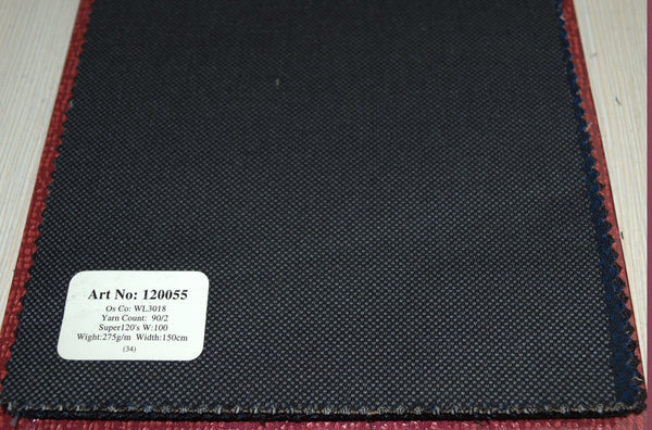 signature-100-wool-super-120s-270-gs-m-plain-blend-grey-120054 - DV Clothiers - The Best Custom Mens Suits In Vancouver