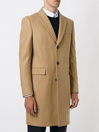 Single Breasted Camel Overcoat - DV Clothiers - The Best Custom Mens Suits In Vancouver