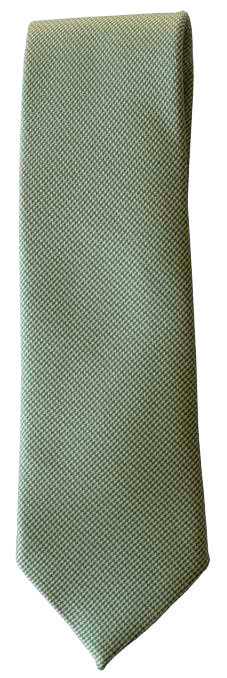 Italian silk ties hand sewn in Italy - Light Green Texture