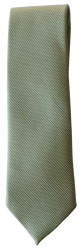 Hand Sewn - Italian Silk Tie - Light Green Texture