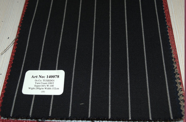 signature-100-wool-super-140s-280-gs-m-pinstripe-black-140078 - DV Clothiers - The Best Custom Mens Suits In Vancouver