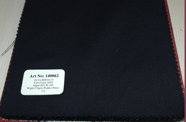 signature-100-wool-super-140s-270-gs-m-plain-blue-140062 - DV Clothiers - The Best Custom Mens Suits In Vancouver