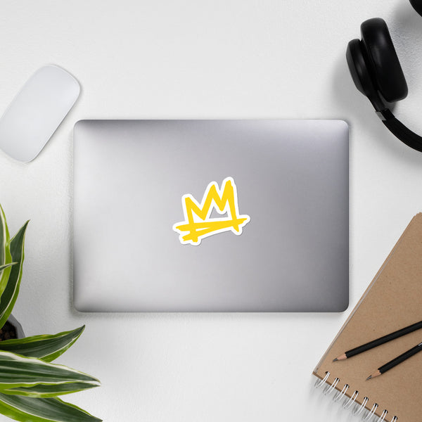 """Crown Me"" Bubble-free stickers"
