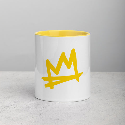 """Crown Me"" Mug with Color Inside"