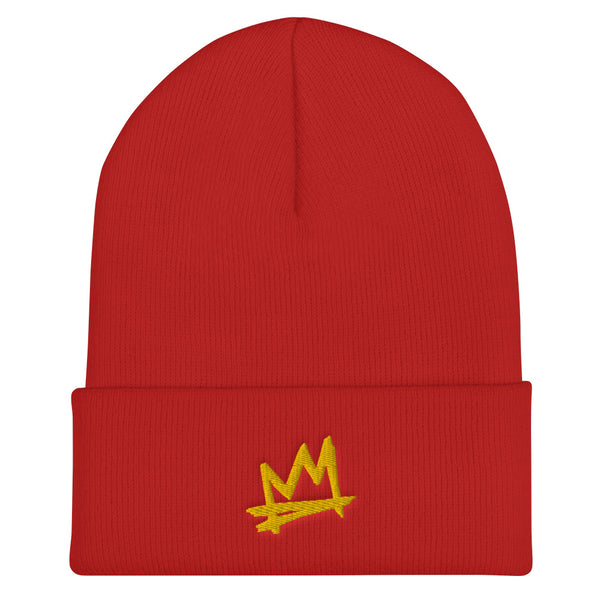 """Crown Me"" cuffed beanie"
