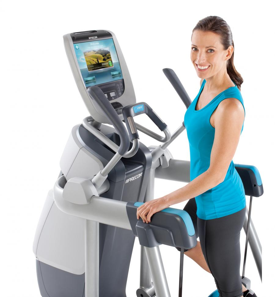 Precor AMT 885 Open Stride With P80 Console