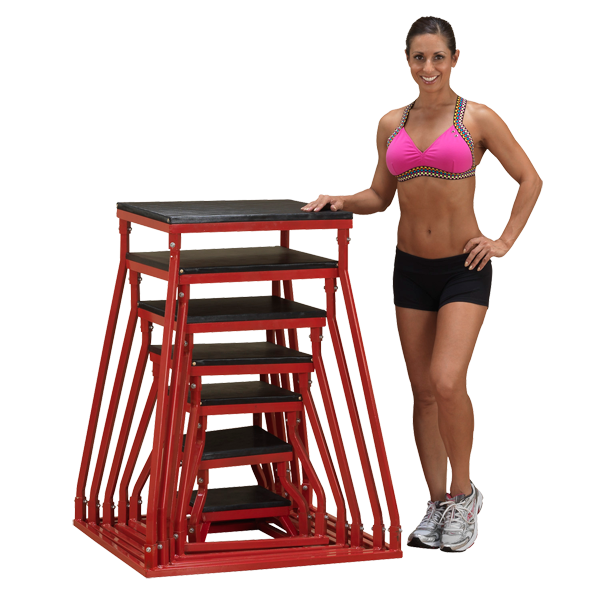 Body-Solid Plyo Boxes 6in - 42in - plyo box - Body-Solid eepdx