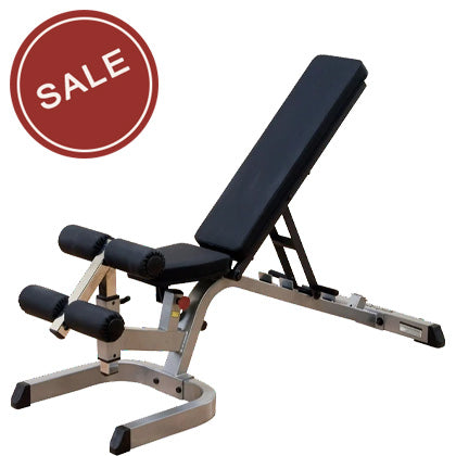 Body-Solid GFID71 Heavy Duty Flat Incline Decline Bench