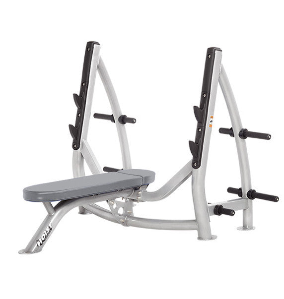 Hoist Freeweight CF-3170 Flat Olympic Bench With Storage - Commercial Line - Hoist eepdx