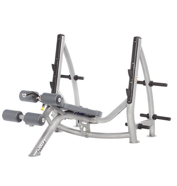 Hoist Freeweight CF-3177 Decline Olympic Bench With Storage - Commercial Line - Hoist eepdx