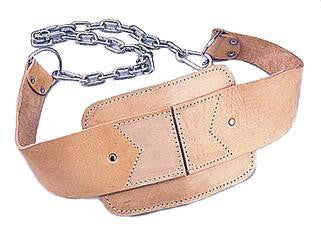 Leather Dip Belt - Fitness Accessories - Kamway eepdx